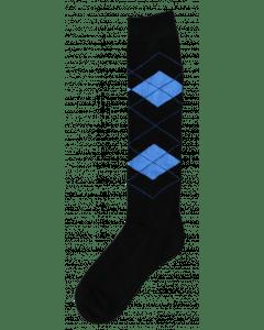 Excellent Kniekous RE zwart/l.blauw   43-46