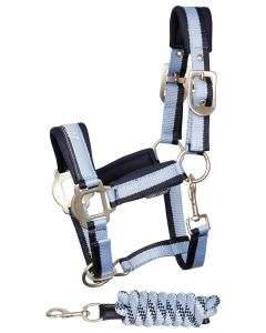 Harry's Horse Halsterset STOUT! Blue