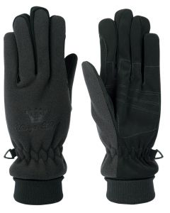 Harry's Horse Handschoenen fleece ademend/waterdicht zwart