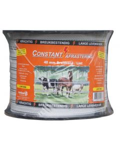 Hofman Lint Excellent Constant 200 m / 40 mm wit