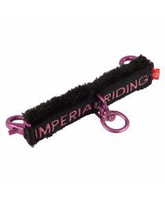 Imperial Riding Longeer bitstukje met bont Moments