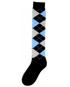 Excellent Kniekous RE d.blauw/grijs/blauw  43-46