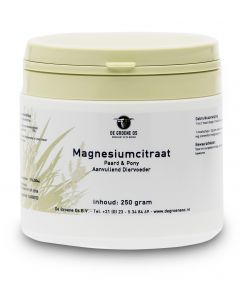 Sectolin Magnesiumcitraat Paard & Pony - De Groene Os 250 g