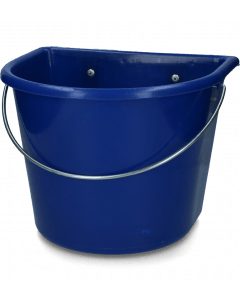 Vplast Voerbak met ophang en hengsel donkerblauw