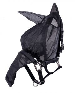 QHP Halster-vliegenkap combi met oren