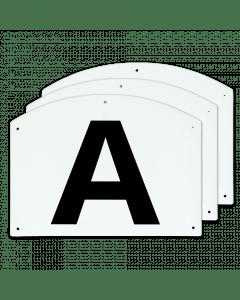 Vplast Show Jump letters A / B / C