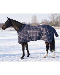 QHP Staldeken luxe met fleece kraag