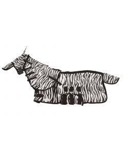 MHS Vliegendeken Zebra met hals en masker