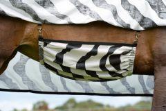 Bucas Buzz-Off buikflap Zebra