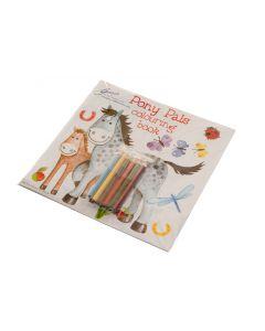 Paarden Kleur/Puzzelboek 'Pony Pals'