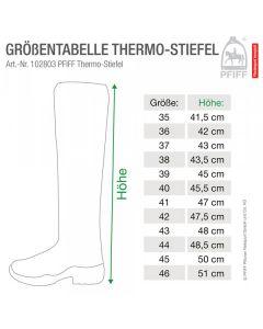 PFIFF Thermische laarzen