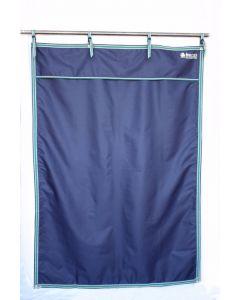 Bucas stalgordijn blauw