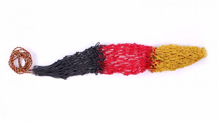QHP  Hooinet Triple Geel/rood/zw 120cm