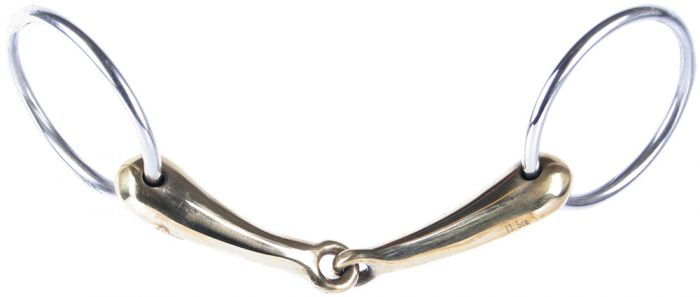 Harry's Horse Watertrens gold brass lichtgewicht 19mm