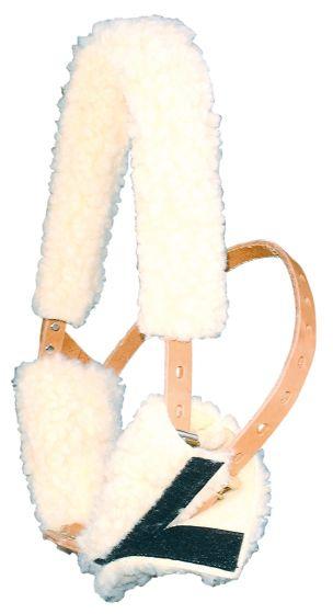 Harry's Horse Kaak/frontbontje voor Miracle halster beige