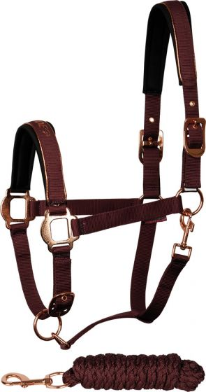 Harry's Horse Halsterset Just Ride Rosegold