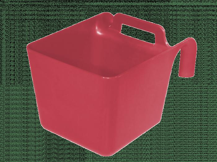 Hofman Voerbak met ophang en handgreep groen KS