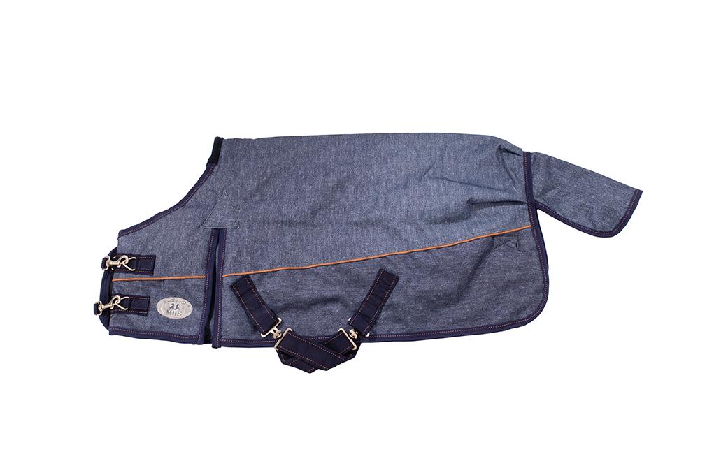 MHS Turnoutdeken Jeans 300 gram